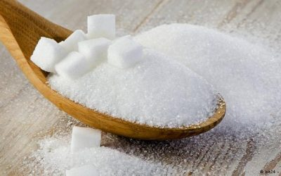 How much sugar does the food contain?
